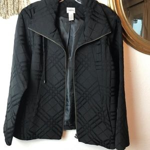Black Chico's Jacket Size L